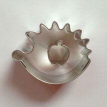 Alma közepű süni linzer kiszúró, sütikiszúró 4,5 cm