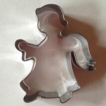 Angyal karácsonyi sütikiszúró forma 7,3 cm