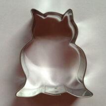 Bagoly sütikiszúró mézeskalács forma 6 cm