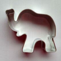 Elefánt állatos mézeskalács kiszúró forma 5,5 cm