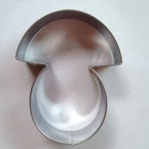 Gomba kiszúró sütemény szaggató forma 6,5 cm