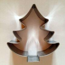 Karácsonyfa kiszúró mézeskalács szaggató forma 4,5 cm