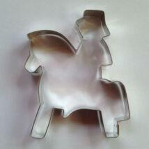 Lovasember sütikiszúró, mézeskalács forma 12 cm