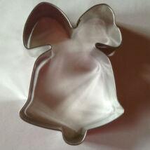 Masnis harang csengettyű karácsonyi sütikiszúró forma 7 cm