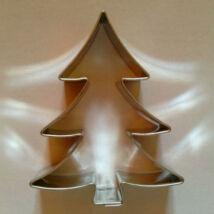 Mézeskalács karácsonyfa kiszúró szaggató forma  6,5 cm