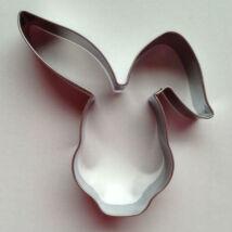 Nyúl fej, nyuszi fej húsvéti mézeskalács kiszúró forma 8 cm