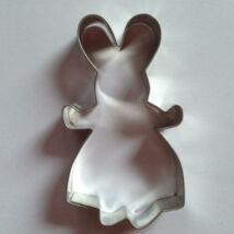 Nyuszilány kiszúró, húsvéti sütikiszúró 9,5 cm