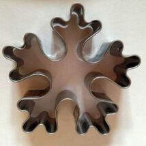 Óriás hópehely kiszúró forma 7,5 cm