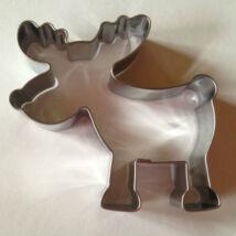 Rudolf szarvas karácsonyi sütemény kiszúró forma 6,5 cm