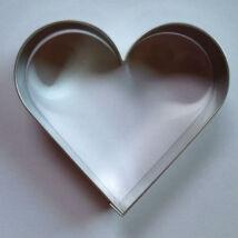 Szív alakú kiszúró forma 8,5 cm