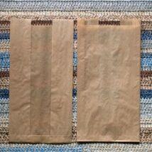 Nagy barna ablakos papírtasak