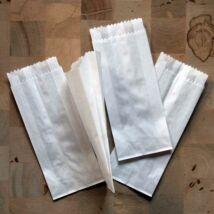 Adventi naptárhoz pici fehér papírzacskó 25 db