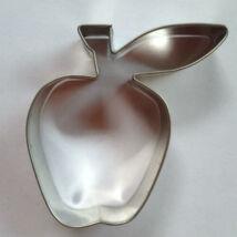 Alma levéllel sütikiszúró gyümölcs mézeskalács forma 6,5  cm