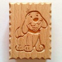 Kutyus állatos fa sütemény pecsét