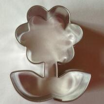 Margaréta virágszál sütikiszúró forma fém 5,5 cm