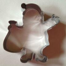 Mikulás télapó karácsonyi sütemény kiszúró forma 8 cm