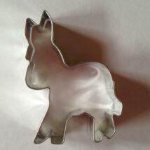 Szamár állatos sütikiszúró forma 7 cm