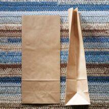 Közepes barna talpas papírzacskó