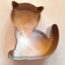 Ülő cica állatos mézeskalács kiszúró forma 5 cm