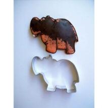 Víziló állatos sütemény kiszúró forma 7,5 cm