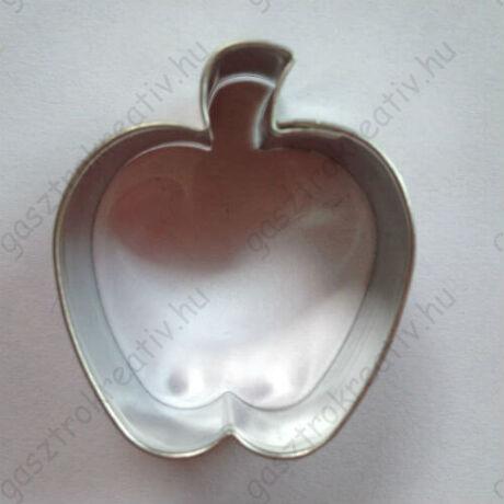 Alma kiszúró gyümölcs mézeskalács szaggató forma 4,1  cm