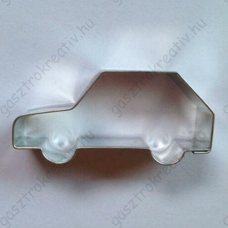 Autó sütikiszúró mézeskalács forma 7,5 cm