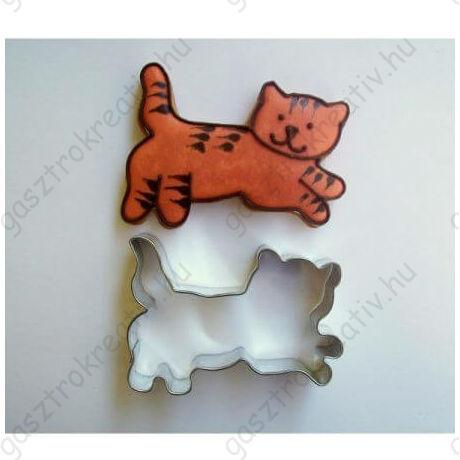 Cica állatos kiszúró forma 6,5 cm