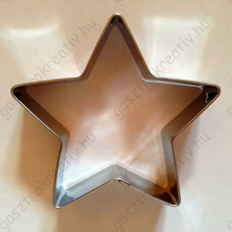 Csillag kiszúró forma 5 ágú 6 cm