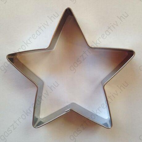 Csillag sütikiszúró forma 5 ágú 7,4 x 7,4 cm