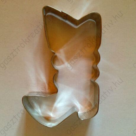 Csizma kiszúró sütemény szaggató forma 8 cm