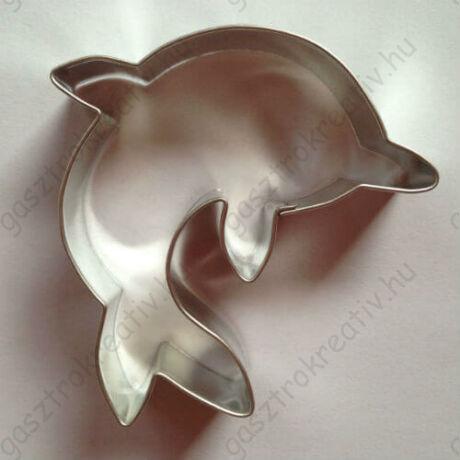 Delfin kiszúró, sütikiszúró forma 6,5 cm