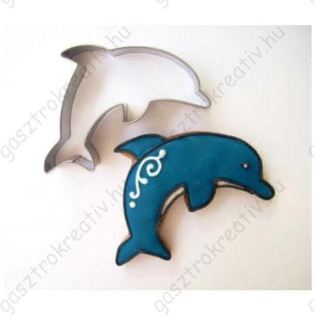 Delfin állatos sütikiszúró forma 6 cm
