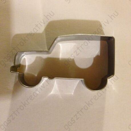 Dzsip terepjáró autó kiszúró forma 3,9 x 7,2 cm