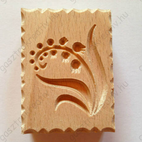 Gyöngyvirág fa sütipecsét, keksznyomda