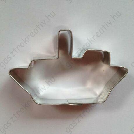 Hajó sütemény kiszúró forma 4,8 x 7,8 cm