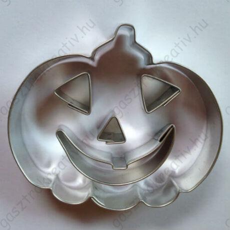Halloween tök sütikiszúró, linzer kiszúró készlet 8 cm