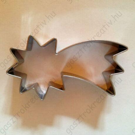 Hullócsillag sütikiszúró, szaggató forma 7,5 cm