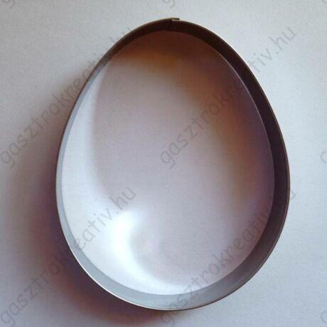 Húsvéti tojás kiszúró, mézeskalács figura 11,1 x 9,1 cm