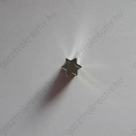 Iciri piciri csillag linzer közép forma, linzer kiszúró 1 cm