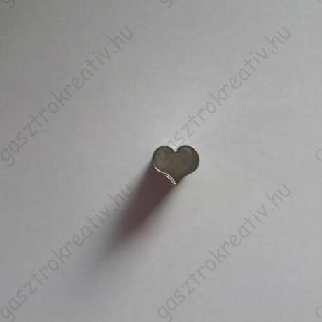 Iciri piciri szív linzer közép forma, linzer kiszúró 1,2 cm