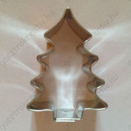 Karácsonyfa kiszúró karácsonyi sütikiszúró 4,5 cm