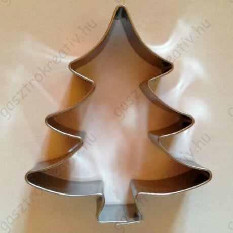 Karácsonyfa kiszúró mézeskalács szaggató 6,5 cm
