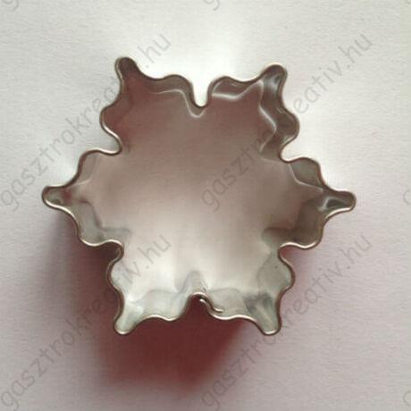 Karácsonyi hópehely hópihe sütemény kiszúró forma 4,3 cm