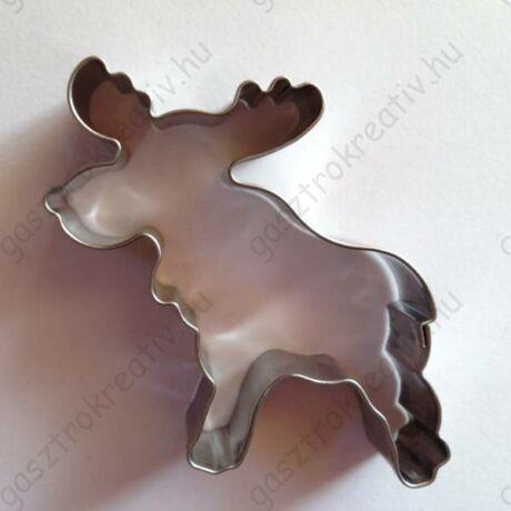 Karácsonyi rénszarvas sütikiszúró forma 9 cm x 9,7 cm