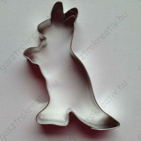 Kenguru állatos mézeskalács kiszúró forma 8,5 cm