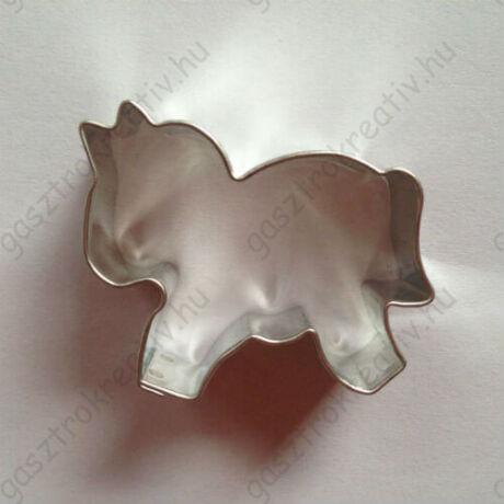 Kis lovacska sütikiszúró, mézeskalács forma 4 cm