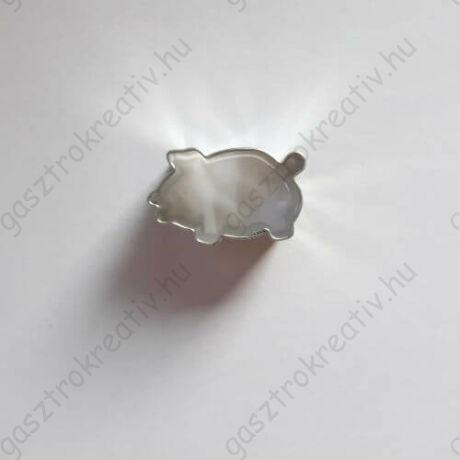 Kis malac linzer közép forma, linzer kiszúró 3 cm