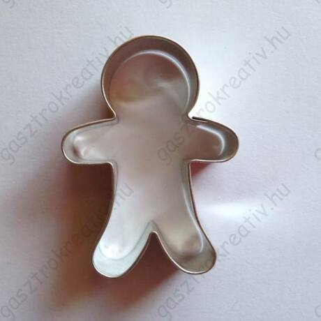 Kisfiú sütemény kiszúró, sütikiszúró forma 5,8 x 4,1 cm
