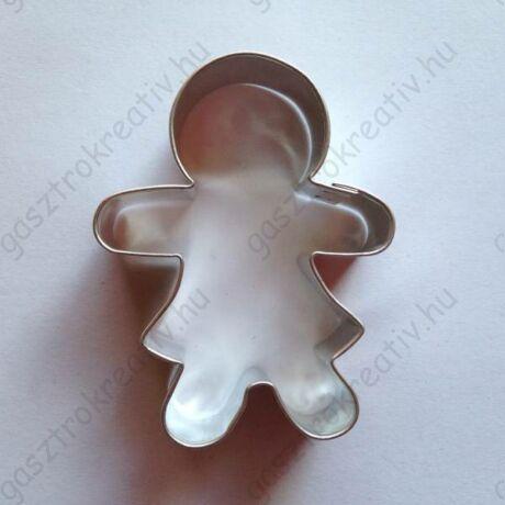 Kislány sütemény kiszúró, sütikiszúró forma 5,8 x 4,1 cm