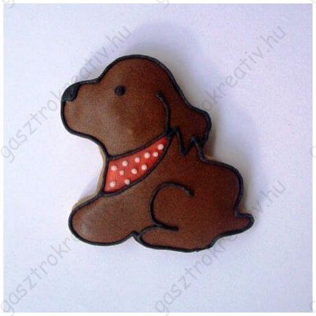 Kutyus alakú állatos kiszúró forma 5 cm